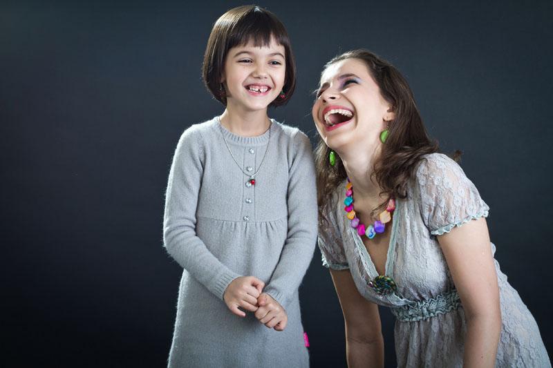 Ioana si Daria - sesiune foto in studio