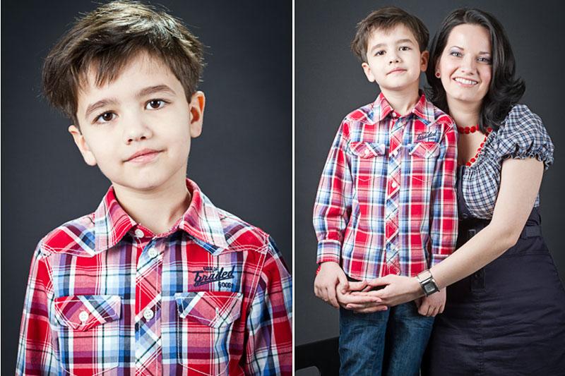 Claudia si Matei - fotografii de familie in studio